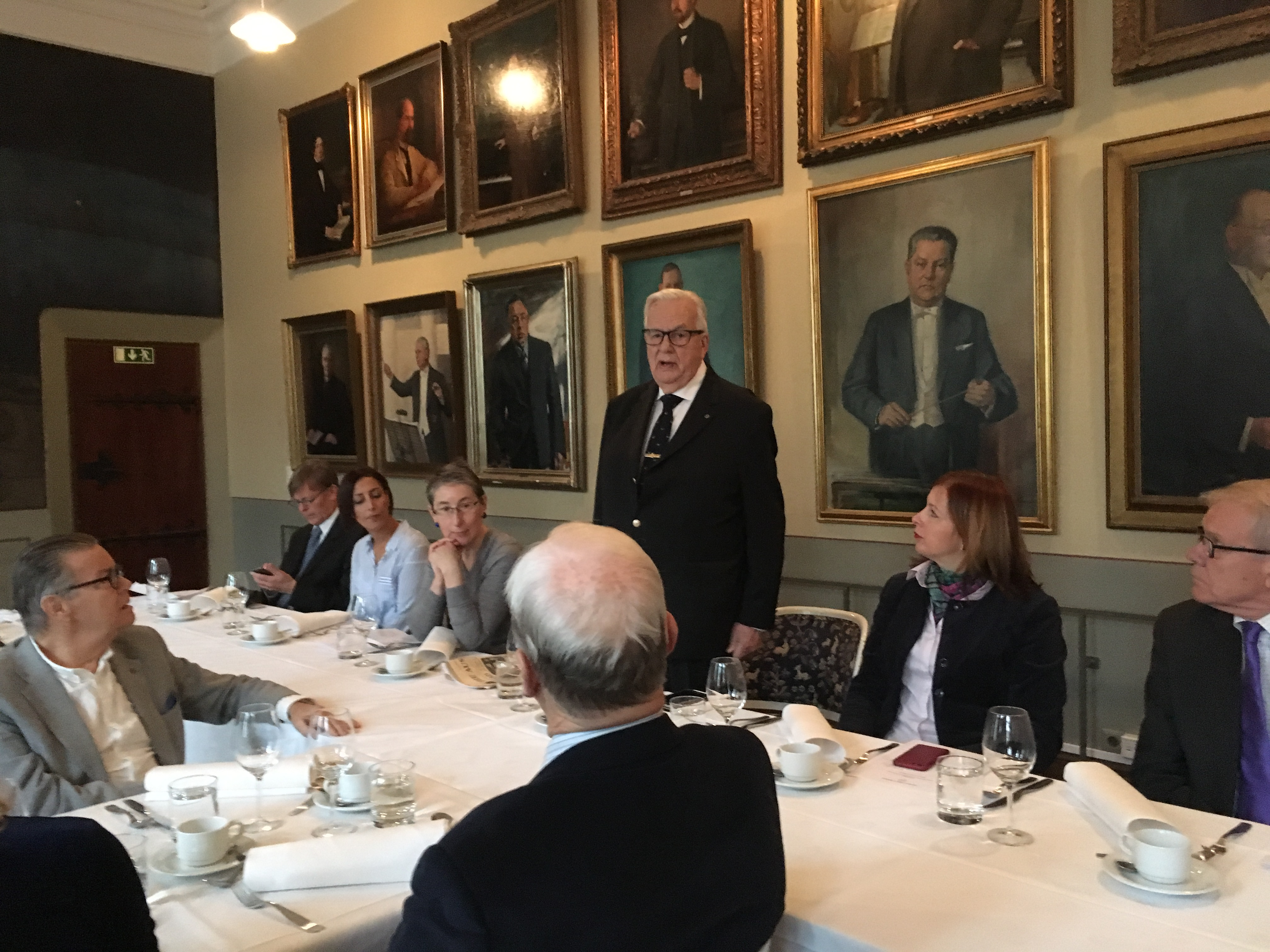 Consular Corps Event, 10 October 2017