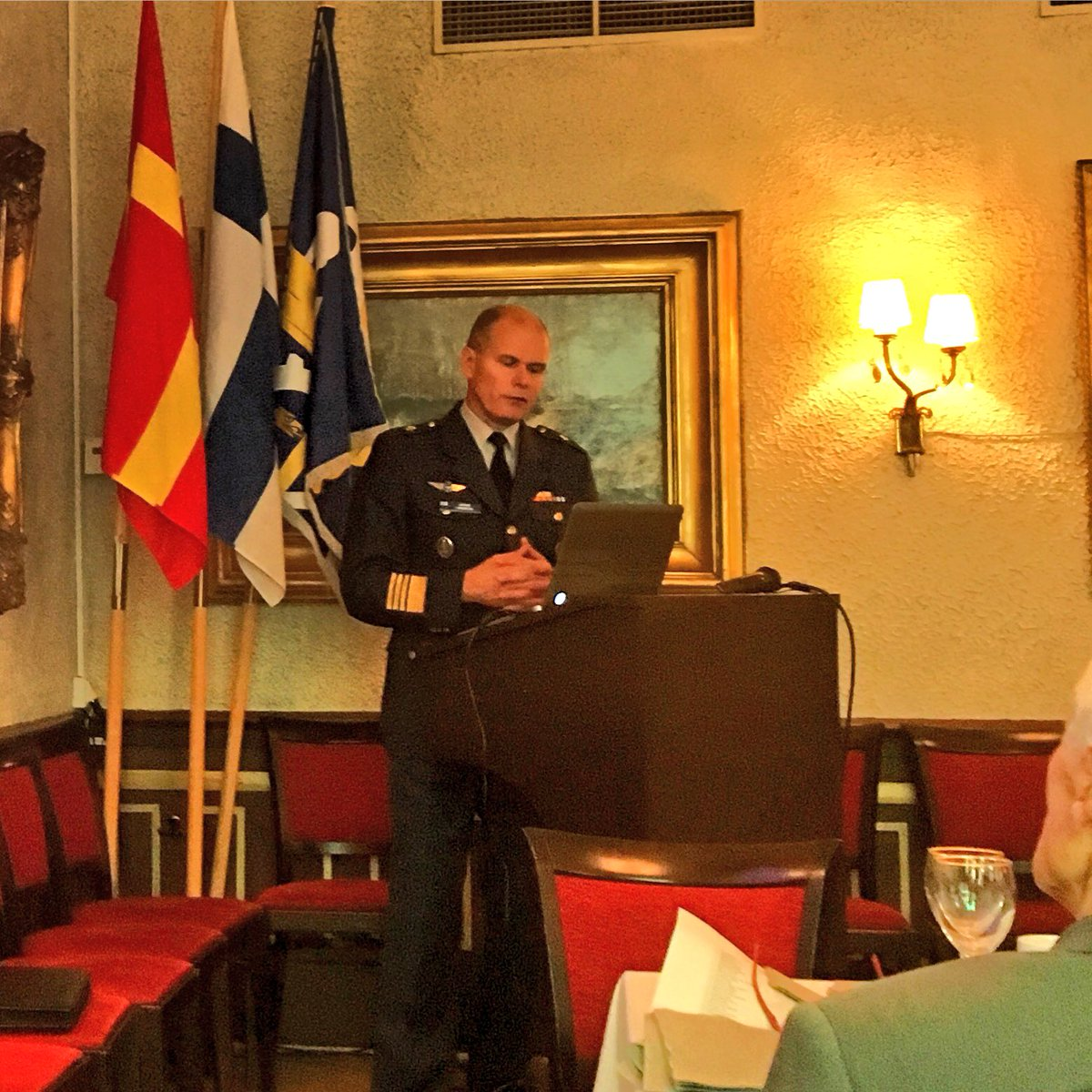 "General, Chief Commander Jarmo Lindberg shares his latest views under the traditional ""Command Brief"" with the Consular Corps in October 2016."